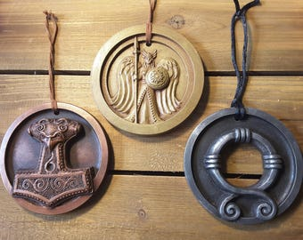 Yuletide Ornaments - Perfect Christmas gift for the Norse/Viking fan in your life