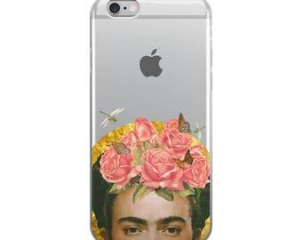 Transparent Frida Phone Case - Transparent Case - Clear Case - Transparent iPhone 7 - Clear iPhone 7 Plus - Gel Case - iPhone 8