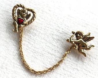 Vintage Avon Cupid Pin