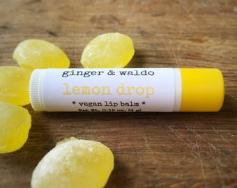 Lemon Drop Lip Balm - Lemon - Lip Balm - Vegan Lip Balm - Beeswax Lip Balm