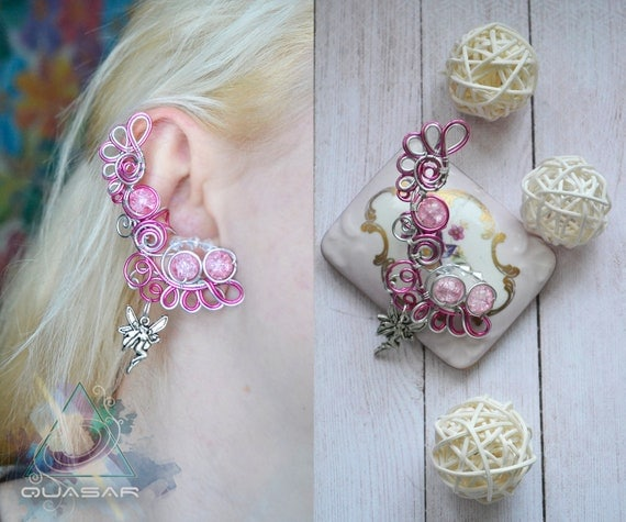 "Ear cuff ""Fairy"" 