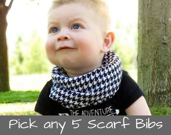 Infinity Bib Scarf Baby Gift Baby Bib Scarf Bib Scarf Baby Drool Bib Scarf Drool Bib Scarf Bib Scarf Girl Bib Scarf Boy