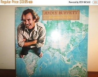 Save 30% Today Vintage 1982 Vinyl LP Record Jimmy Buffett Somewhere Over China Near Mint Condition 11599