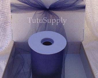 BLOWOUT Navy Blue Tulle Roll, tulle roll, tulle fabric, tulle spool, tutu supply, wholesale tulle, tulle rolls, tutu fabric, tutu supplies