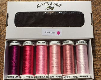 Pack of discovery oval silk rose