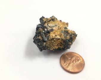 """Rutile Hematite Specimen Brazil 1.75"""" 48g 17rf1025"""