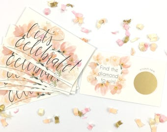 Bridal Shower Game | Bridal Shower Games | Bachelorette Party Scratch Off Cards | Bridal Shower Scratch Off | Some Assembly Required