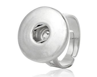 X 1 adjustable ring for snap button