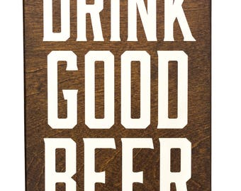 gifts for beer lovers, gifts for beer drinkers, beer gift, rustic wood beer sign, craft beer decor, craft beer lover gifts,  beer drink sign
