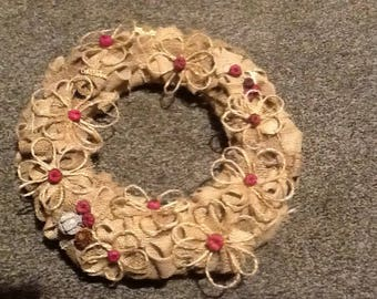 Christmas wreath made to order.