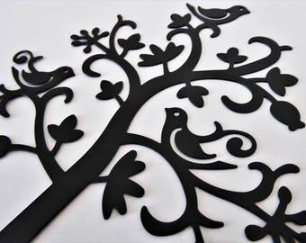 Jewellery tree with birds and foliage