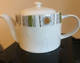 Mid-century Kathie Winkle Teapot (Capri)