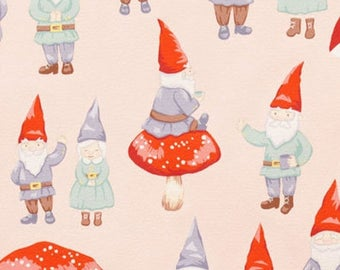 "Summer Sale Alexander Henry ""gnome sweet gnome"""