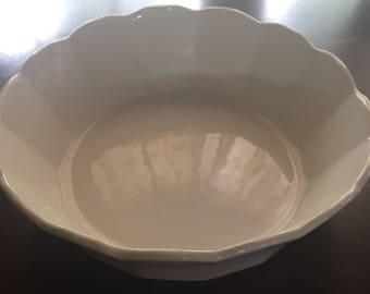 Vintage McCoy scalloped edged bowl #7531