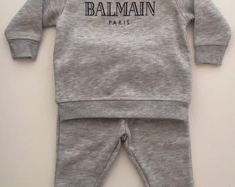 Balmain paris baby tracksuit