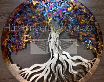 Heated Stainless Steel Tree Of Life