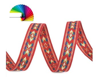 3 M Indian print woven Ribbon