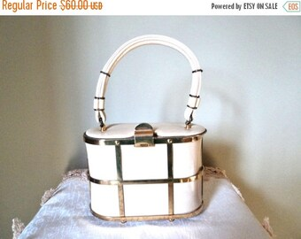 On Sale Etra Cage Style Vintage Pill Box Purse Handbag