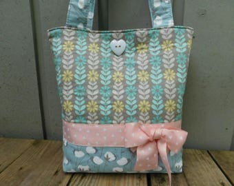 Little Girls Purse, Toddlers Tote Bag, Girls Tote Bag, Toddlers Purse, Little Girl Gift, Pink Tote Bag, Young Girl Totes, Kids Tote for Girl