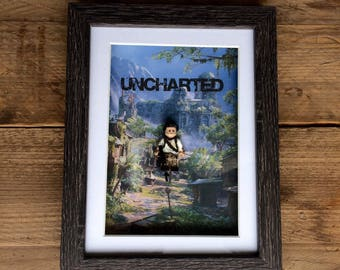 Uncharted - Nathan Drake Lego Frame