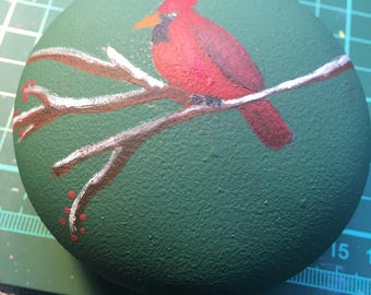 Cardinal Hand-Painted Ornament