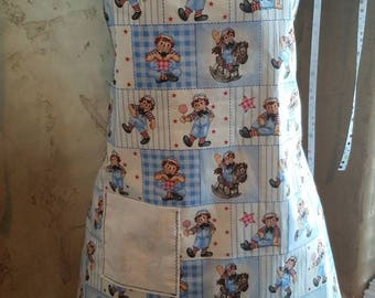 Raggedy Andy novelty apron for ladies