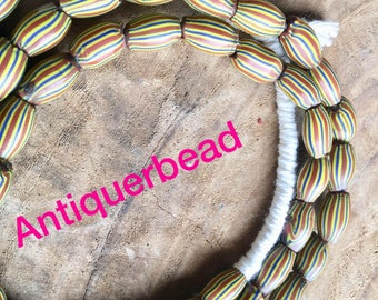 Venetian antique Large water beads- Africa trade beads