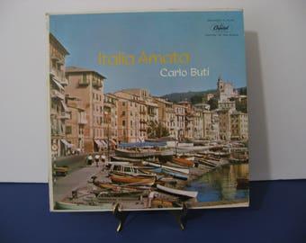 Very Rare Vinyl! Carlo Buti - Italia Amata - Circa 1958
