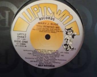 Mary J. Blige - You Remind Me - Maxi Single - Circa 1991