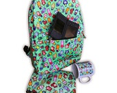 SALE Chibi Animal Crossing Pattern ~ New Leaf / Wild World ~ Backpack
