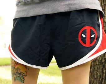 SAMPLE SALE Deadpool Shorts