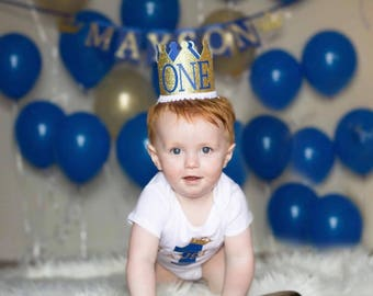 Royal prince first birthday, royal prince outfit, crown birthday hat, boys first birthday, kansas city, prince baby shower