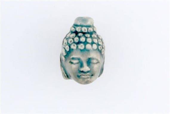 Ceramic Raku Buddha Head Beads Choice Of Lot Size Amp Price