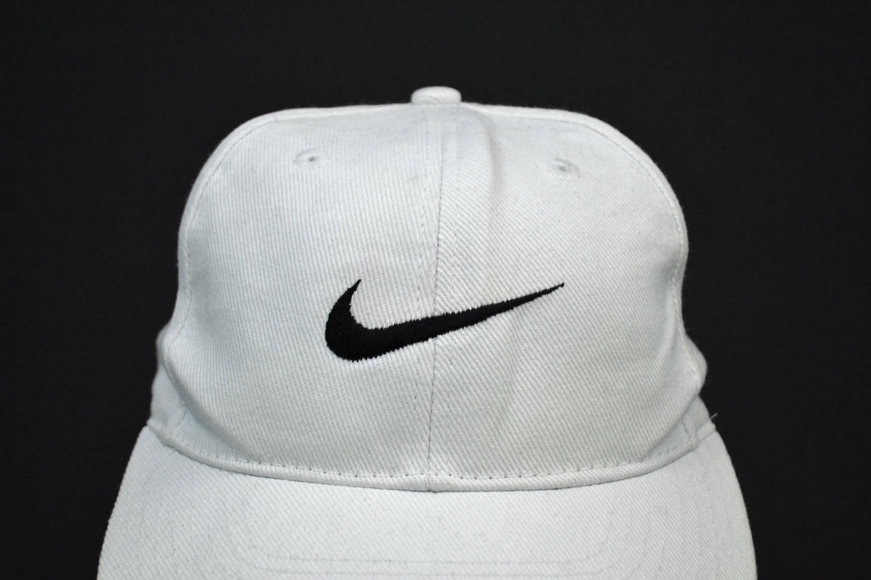 3f610039b0b82 Nike Hat Vintage Nike Baseball Cap 90s Nike Snapback 6 Panel One Size Fits  All