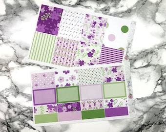 Violet Floral Mini Kit