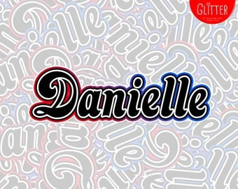 Little Monster, Limited Run Personalised Name Holographic Sticker