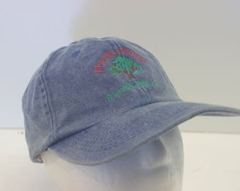 Hazelwood tree hat cap denim jean low profile 90s 1990s