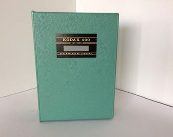 Vintage Kodak 400 Kodaslide File Box - Originally Intended for Slides