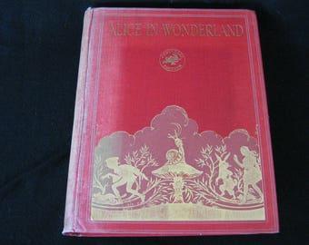 Alice in Wonderland Lewis Carroll and Gwynedd M Hudson