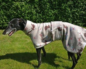 Greyhound Coat Fleece Scotty