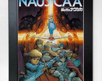 Nausicaä of the Valley of the Wind A3 Movie Poster Studio Ghibli Unframed