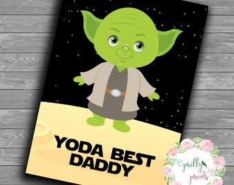 Yoda Best Star Wars Print