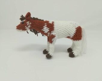 Customised Crocheted Horse