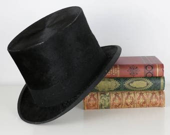 Antique Top Hat 1800's - Henry Heath Oxford St London