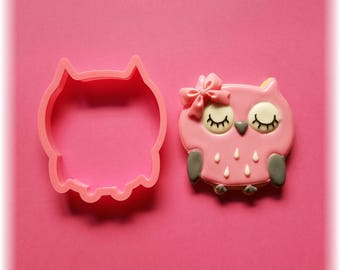 Cute Owl Baby Shower Cookie Cutter