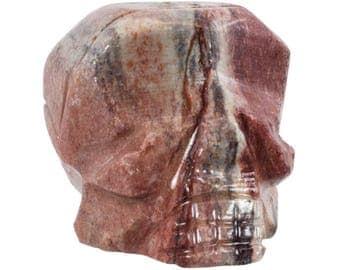 Soapstone Skulls, Alien Skull, Hand Carved, Wicca, Goth, Unique, Gift, Ancestral Wisdom, Specimen Display