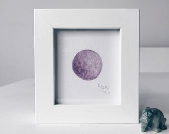 Framed Mini Moon Limited Edition Number 8/10