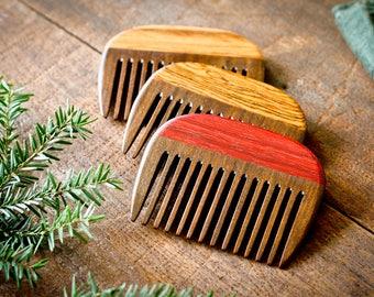 Wooden Beard Comb - Brazilian Walnut
