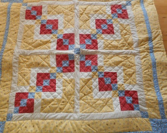 """Hop, Skip and Jump"""" Baby quilt"""