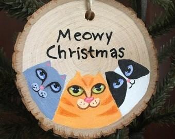 Cat Trio Ornament